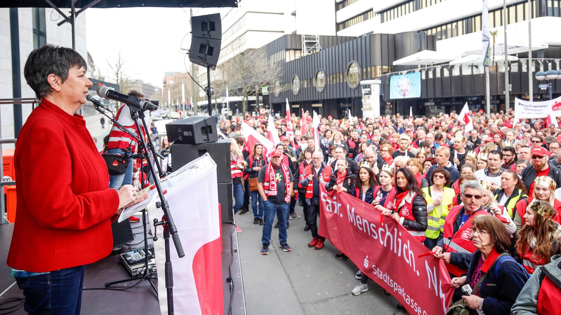 Verdi Streik | Eventfotografie